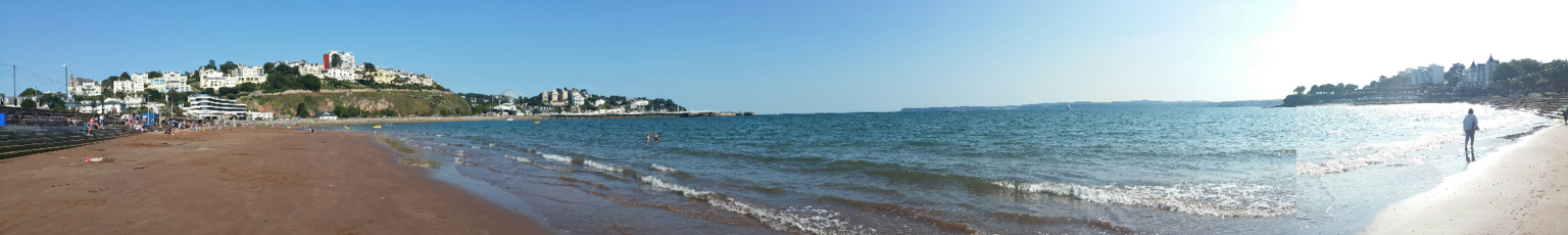 Abbey sands beach Torquay