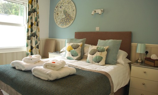 Boutique luxury bed and breakfast rooms in Torquay