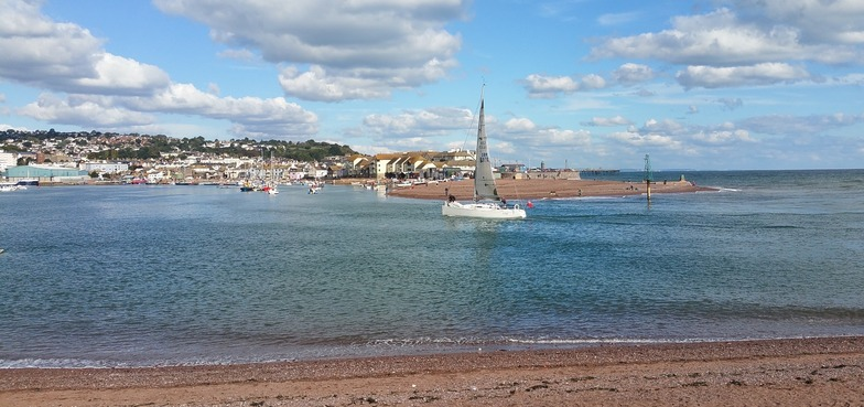 View to Teignmouth from Shaldon