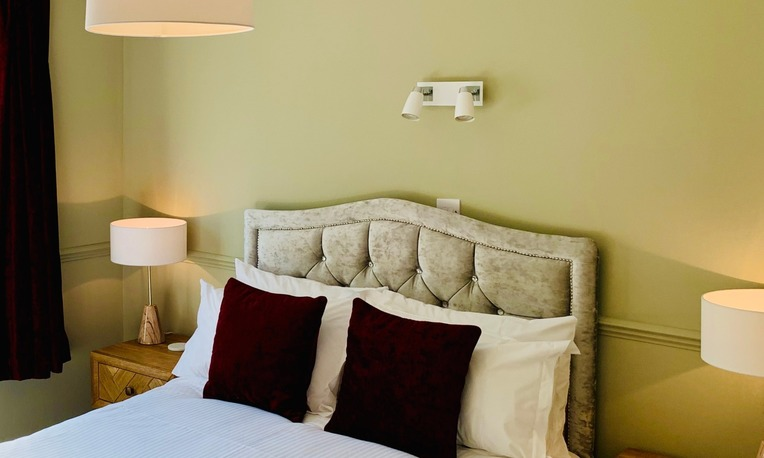 Boutique luxury bed and breakfast bathrooms in Torquay